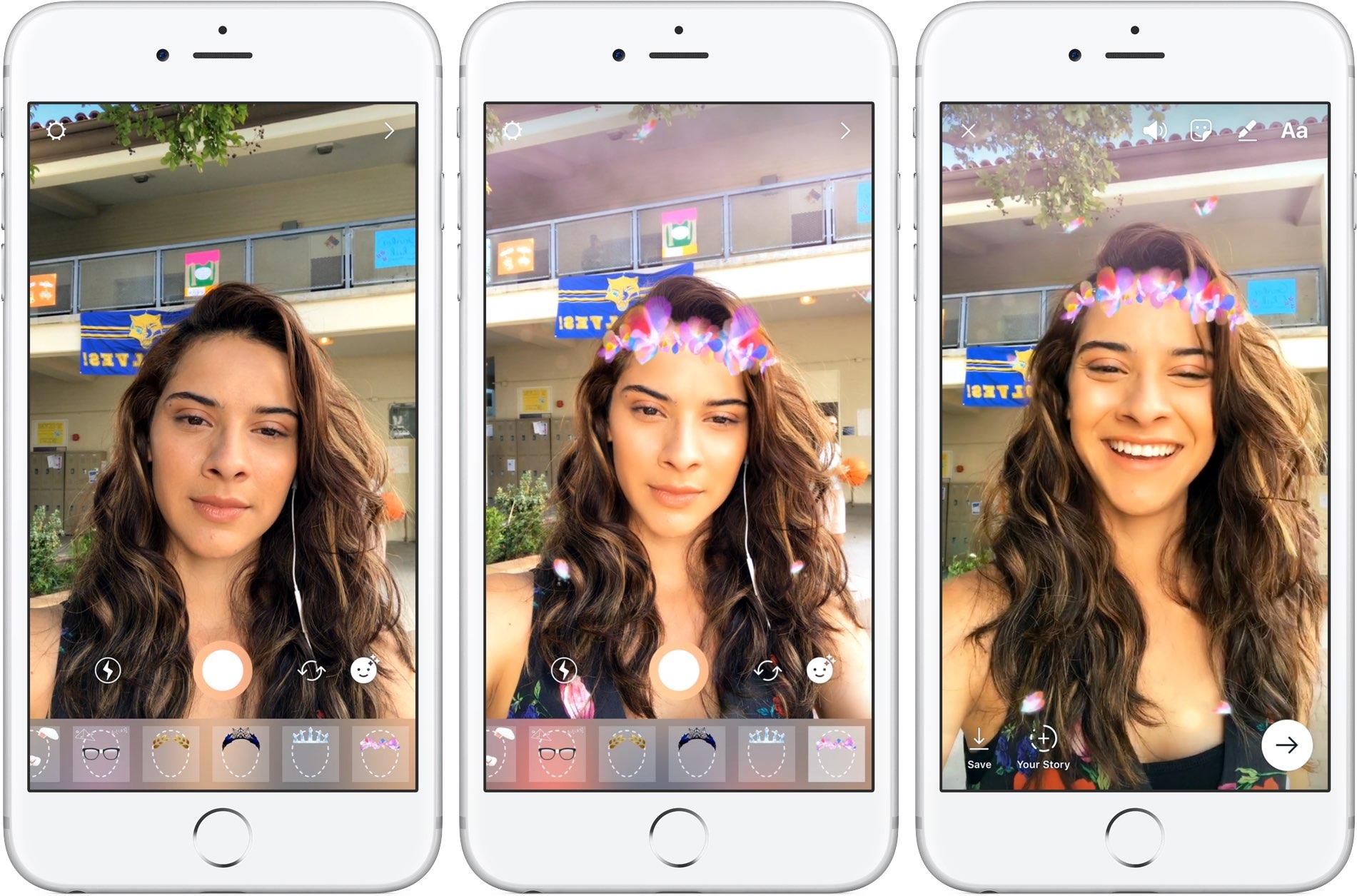 Наложение эффектов на фото в инстаграм